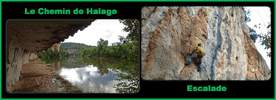Chemin de halage & Escalade