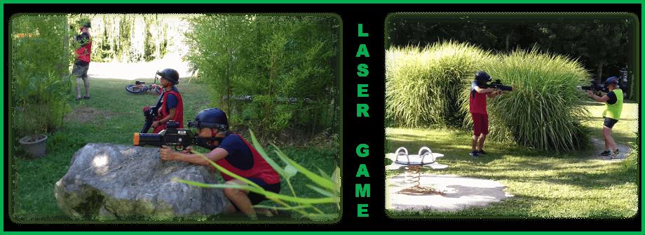 Laser Game dans le camping