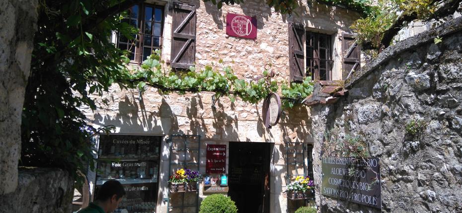 Musée du Vin de St Cirq Lapopie