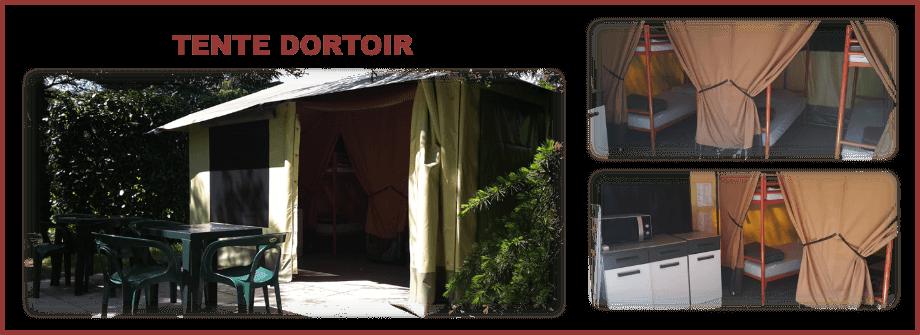 Tente dortoir (6 lits)