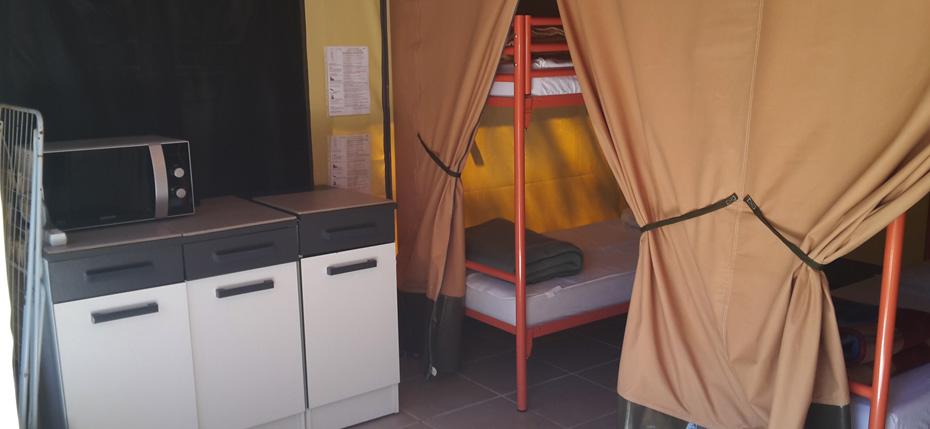 Tente dortoir